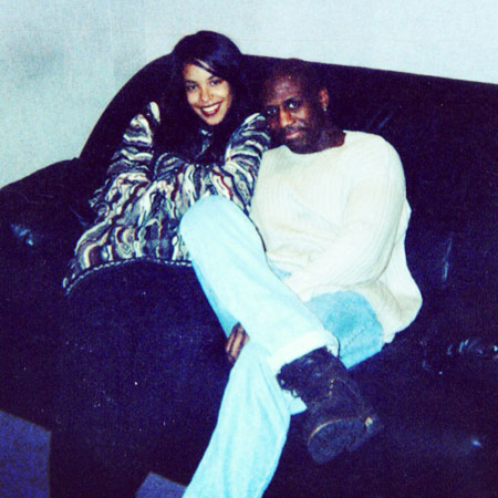Craig with Aaliyah
